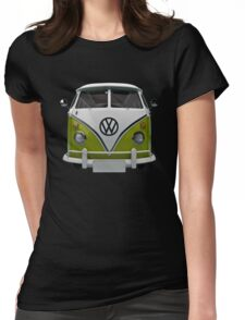 VW Bus Happy II Womens Fitted T-Shirt