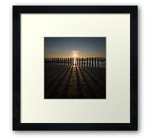 The Long Shadow Framed Print