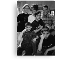 Malcolm in the Middle B&W photo Canvas Print