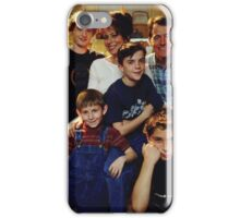 Malcolm in the middle GRAPHIC TEE iPhone Case/Skin