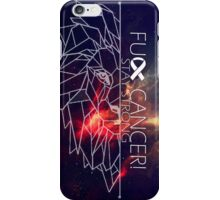 Fuck Cancer // Galaxy // Phone Case //  Geo Lion iPhone Case/Skin