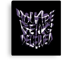 Decepticon Graffiti Example 113 Canvas Print