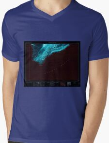 USGS TOPO Map Hawaii HI Hawaii South 349924 1961 250000 Inverted Mens V-Neck T-Shirt