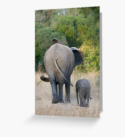 Well Child, Its Like This.... Greeting Card