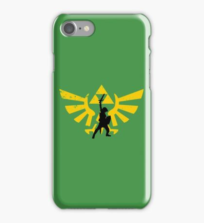 The power of three (Legend of Zelda) iPhone Case/Skin