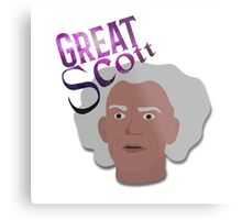 Great Scott! Metal Print