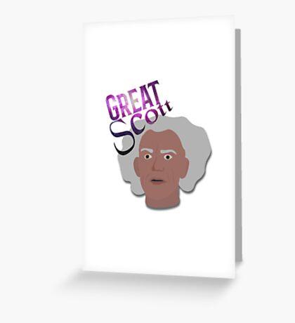 Great Scott! Greeting Card