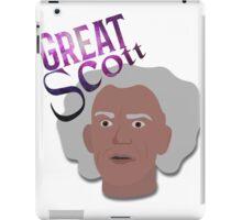 Great Scott! iPad Case/Skin