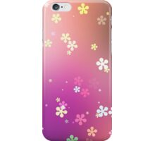 Snowflakes Flower iPhone Case/Skin