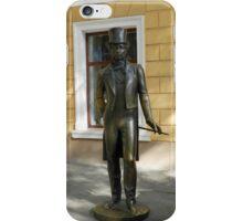 Pushkin in the street iPhone Case/Skin