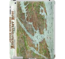 Panoramic view of New York City and vicinity - 1912 iPad Case/Skin
