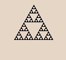 Sierpinski Triangle Fractal Math Art Unisex T-Shirt
