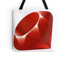 Ruby logo Tote Bag