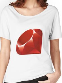 Ruby logo Women's Relaxed Fit T-Shirt