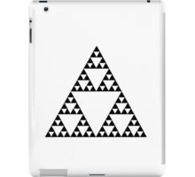 Sierpinski Triangle Fractal Math Art iPad Case/Skin