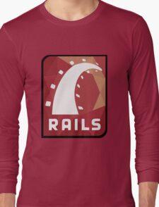 Ruby on Rails logo Long Sleeve T-Shirt