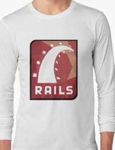 Ruby on Rails logo Long Sleeve T-Shirt