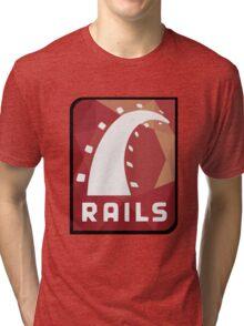 Ruby on Rails logo Tri-blend T-Shirt