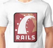 Ruby on Rails logo Unisex T-Shirt