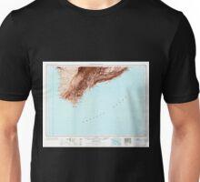 USGS TOPO Map Hawaii HI Hawaii South 349924 1961 250000 Unisex T-Shirt