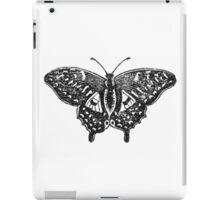 Monochrome Mariposa  iPad Case/Skin