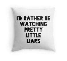 PLL Throw Pillow