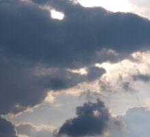 Menacing Clouds Sticker