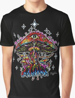 Eye Mushroom Graphic T-Shirt