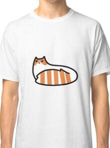 Striped Tail Kitty Classic T-Shirt