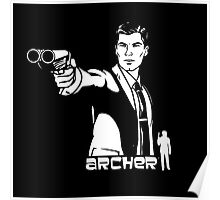 Archer Shoot Danger Zone Poster