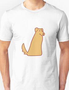 Golden Retriever Blob Unisex T-Shirt