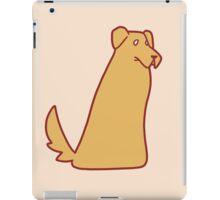 Golden Retriever Blob iPad Case/Skin