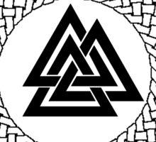 Valknut - Wotans Knot - Odin Rune Sticker