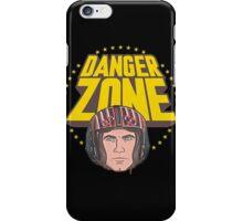 Archer Danger Zone Topgun Head iPhone Case/Skin