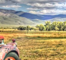 Taos Truck Sticker