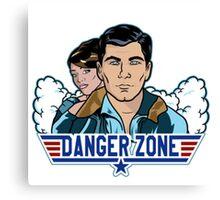 Archer Danger Zone TOPGUN Canvas Print