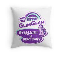 Starlight Glimmer - Logo - Best Pony Throw Pillow