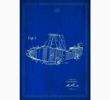 TIR-Airplane - Blue Poster Unisex T-Shirt