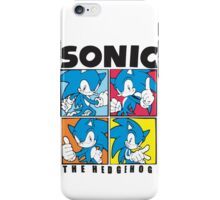 Sonic The Hedgehog 4 in 1 iPhone Case/Skin