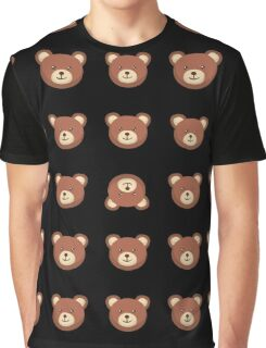Cute Teddy Bear Lovely Pencil Skirt Childhood Design  Graphic T-Shirt