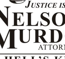 Nelson And Murdock Law Sticker