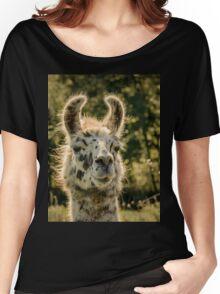 Llama Women's Relaxed Fit T-Shirt