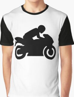 Race motorcycle Graphic T-Shirt