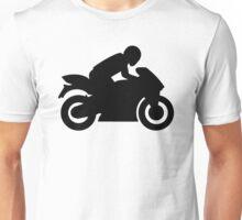 Race motorcycle Unisex T-Shirt
