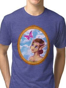 The elf and the butterfly~  Tri-blend T-Shirt
