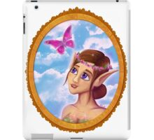 The elf and the butterfly~  iPad Case/Skin
