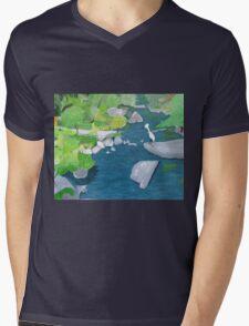 Rocky River Mens V-Neck T-Shirt