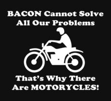 Bacon Motorcycles  by rosebudcassidy