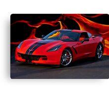 2015 Corvette Coupe Canvas Print