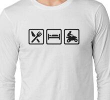 Eat sleep ATV Quad  Long Sleeve T-Shirt